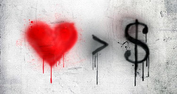 Corazón > Dinero