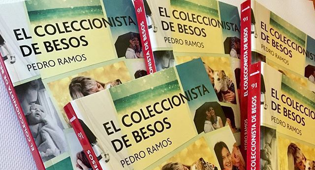 """Resultado de imagen de """"EL COLECCIONISTA DE BESOS"""" de Pedro Ramos"""